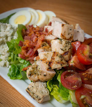 Alumni Cafe chicken salad