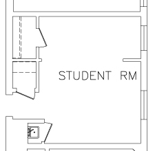 Roble Double Room Floorplan