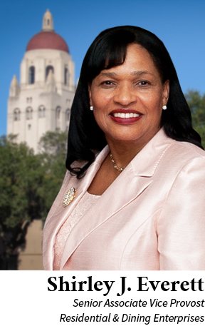 Shirley Everett, Ed.D., Senior Associate Vice Provost for Residential & Dining Enterprises