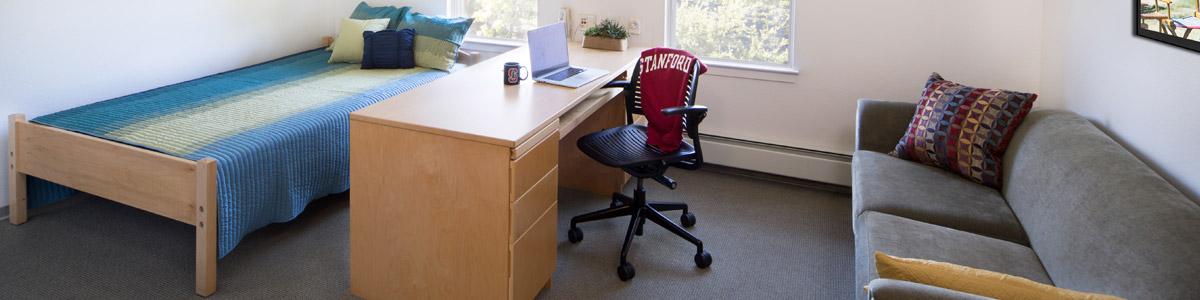 Graduate Housing room