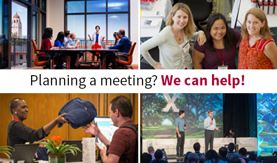Planning a meeting? We can help!