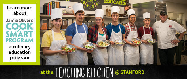 Learn more about the Teaching Kitchen @ Stanford!