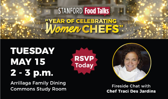 Chef Traci Des Jardins will speak at AFDC on May 15, 2018