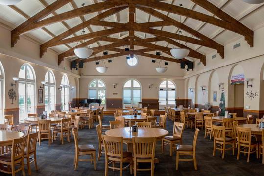 Manzanita Park dining room