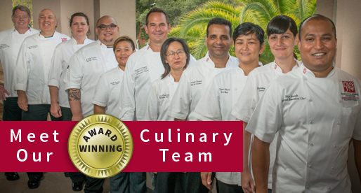 Meet our award-winning culinary team