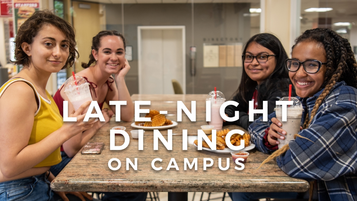 late-night dining on campus