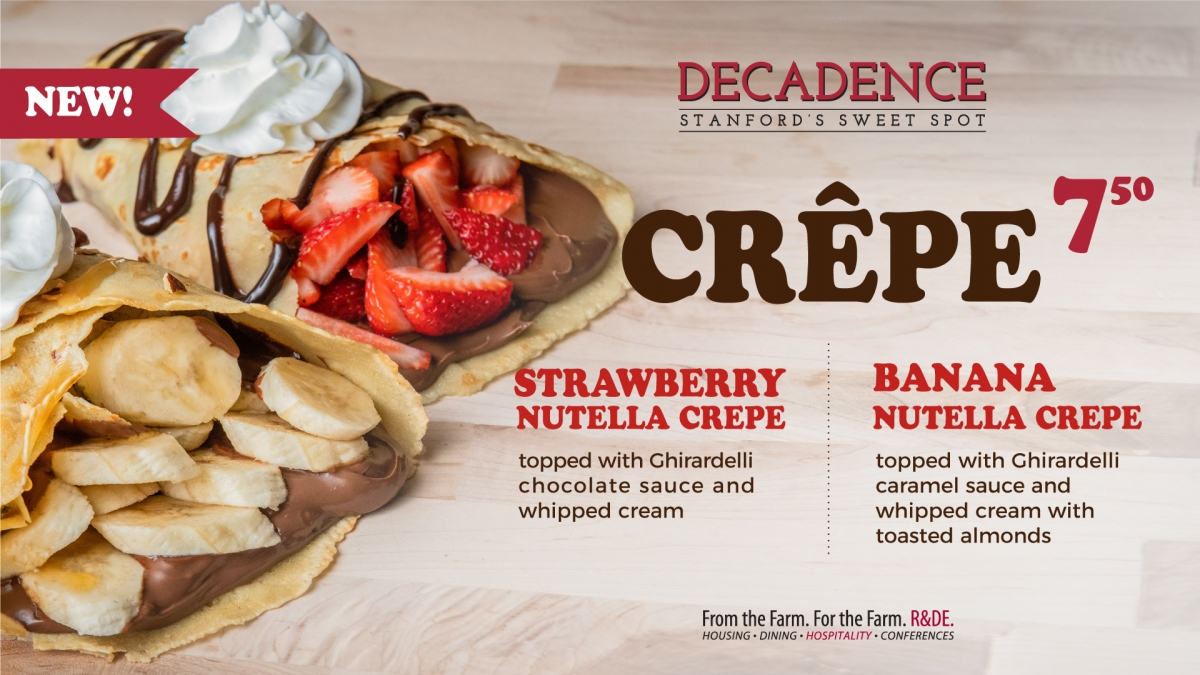 decadence sweet crepe special