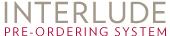 Interlude Pre-Ording System logo