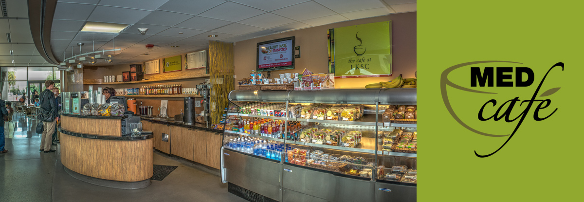 Med Cafe barista bar and grab and go stations
