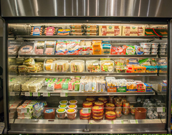 The Munger Market offers a large selection of Grab and Go items like sandwiches, wraps and more.