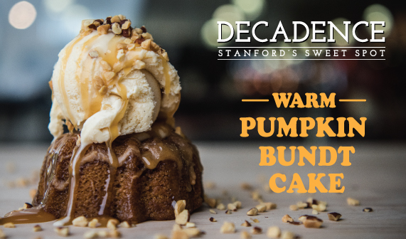 pumpkin bundt cake from Decadence
