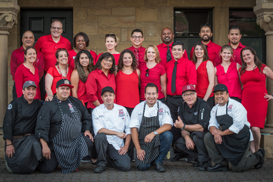Stanford Catering team