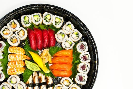 Kikka sushi platter