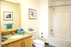 Bathroom - Two-bedroom, two-bathroom
