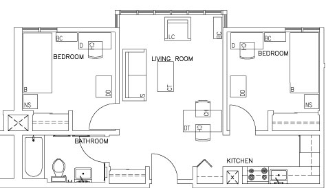 Top View Floorplan