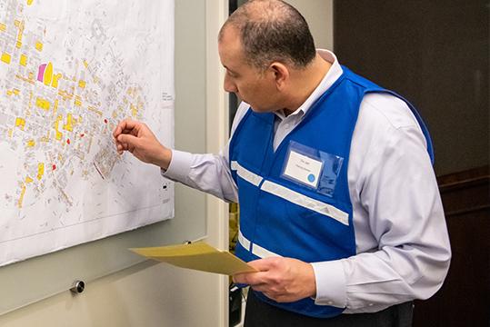 R&DE emergency preparedness training