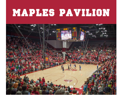Maples Pavilion venue