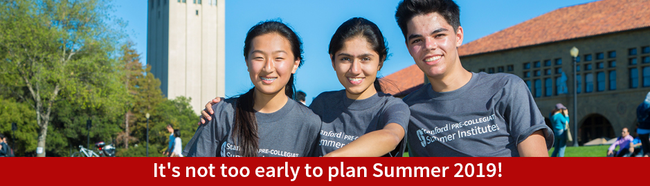 It's not too early to plan Summer 2019!
