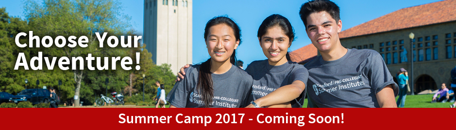 Summer Youth Camps at Stanford.