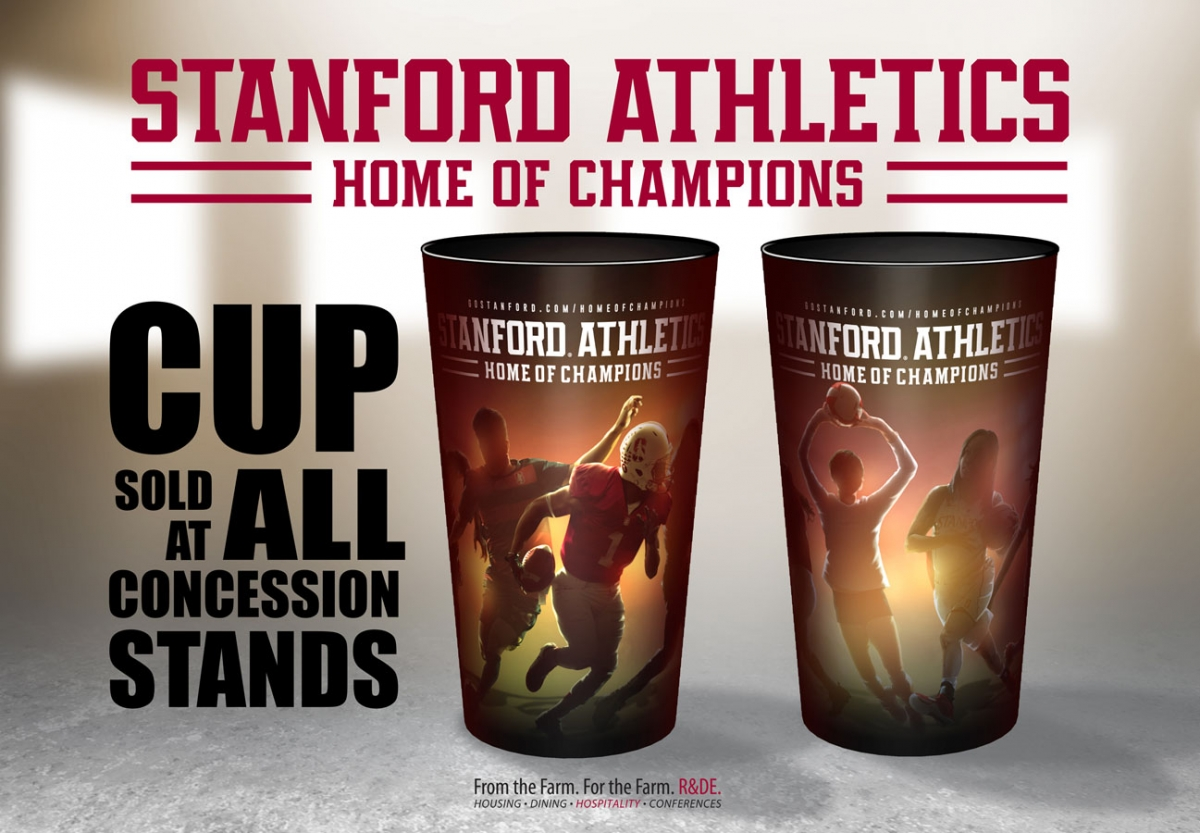 Commemorative Cup sold at all concession stands