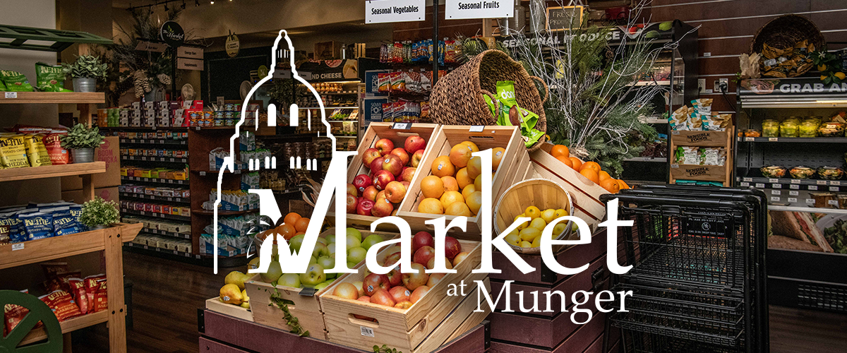 Market at Munger logo and new hours