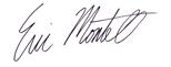 Eric Montell signature