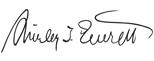 Shirley Everett signature