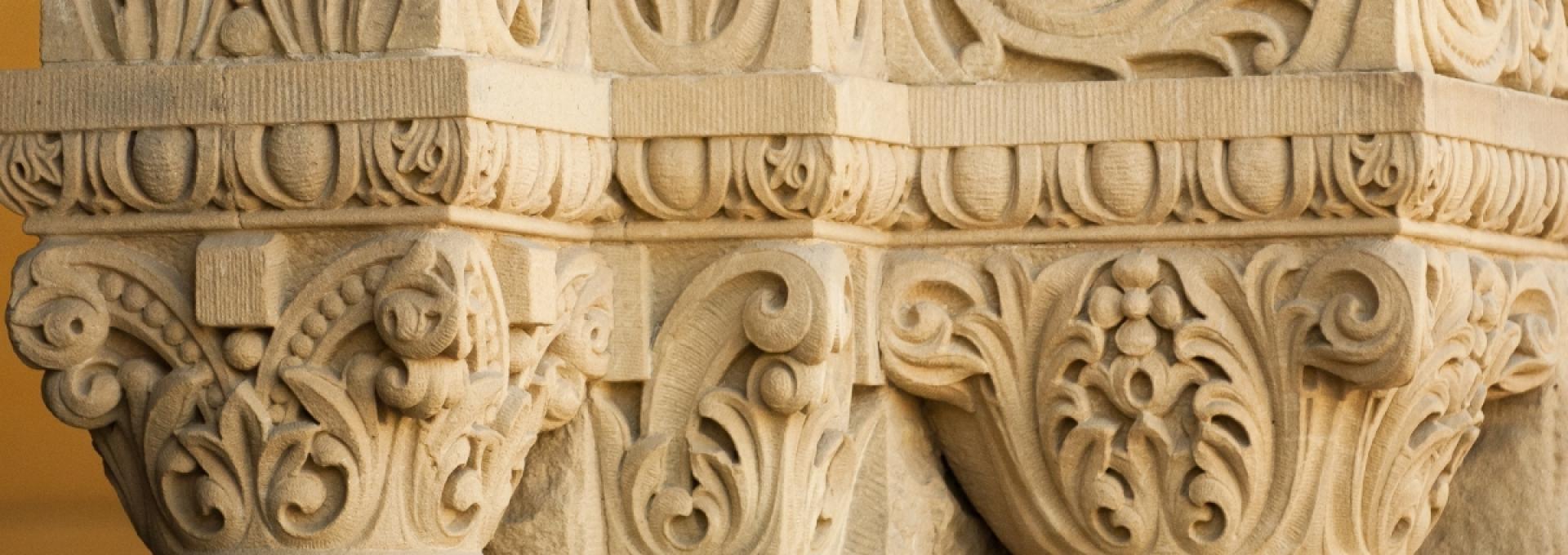 Stanford architectural columns