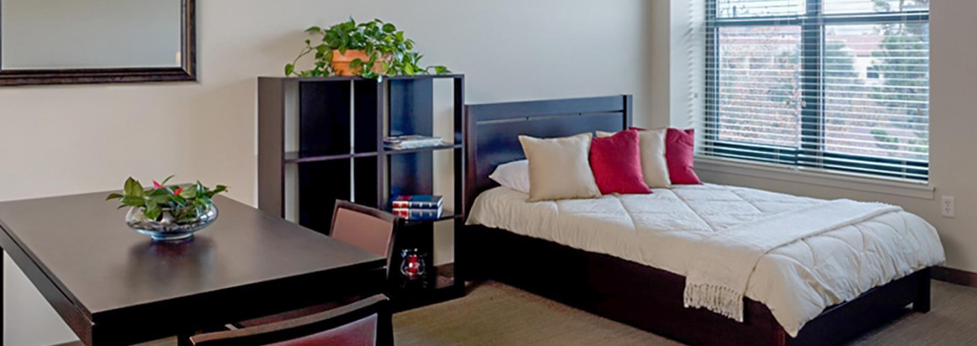 Single Graduate Residence interior