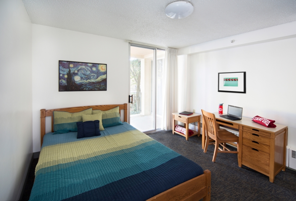 Escondido Village Midrise - One-Bedroom, One-Bath Apartments - available for couples without children (except McFarland) Bedroom