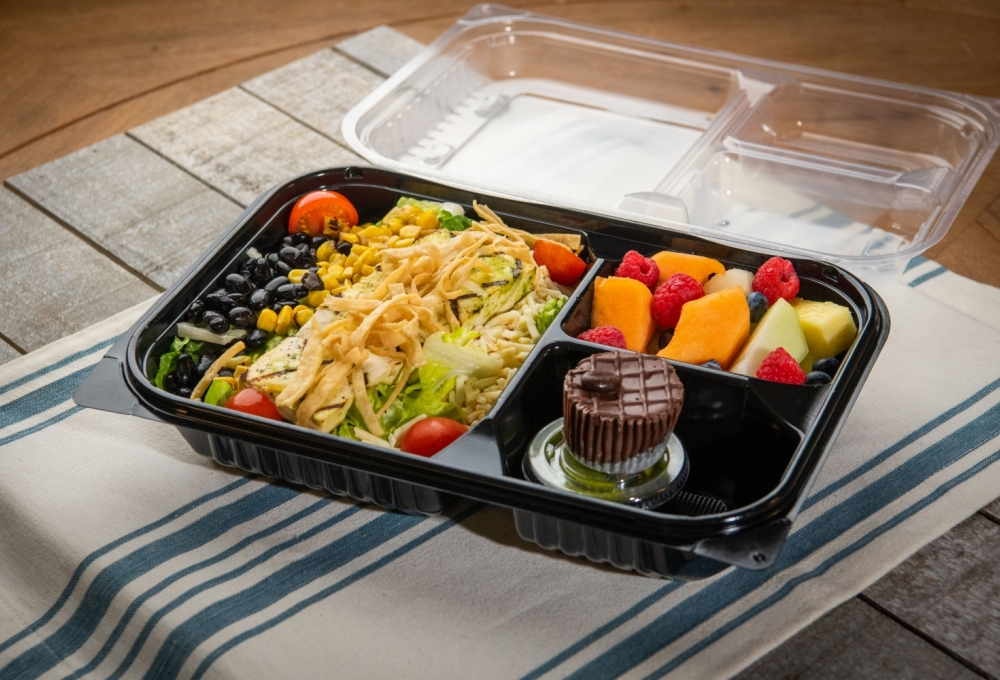 Southwest Salad with Tofu Bento Box