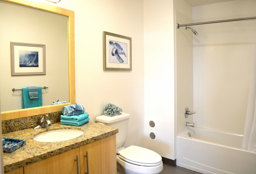 Kennedy Premium 2-Bedroom, Bathroom