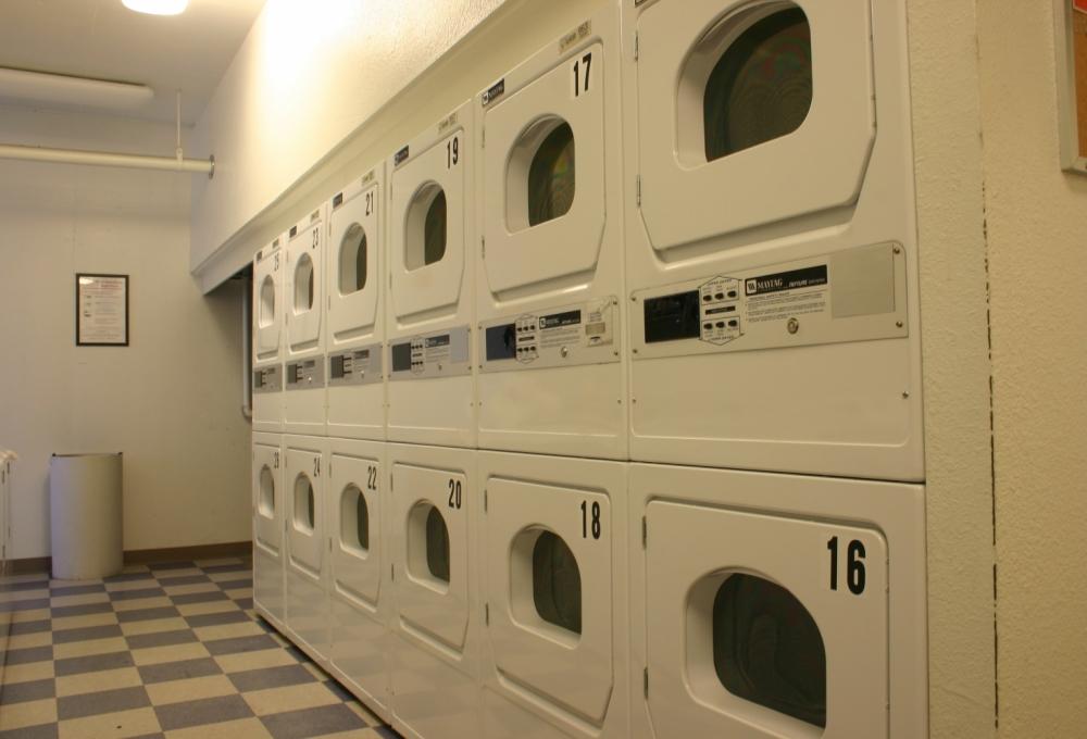 Escondido Village High-Rise, Laundry Room