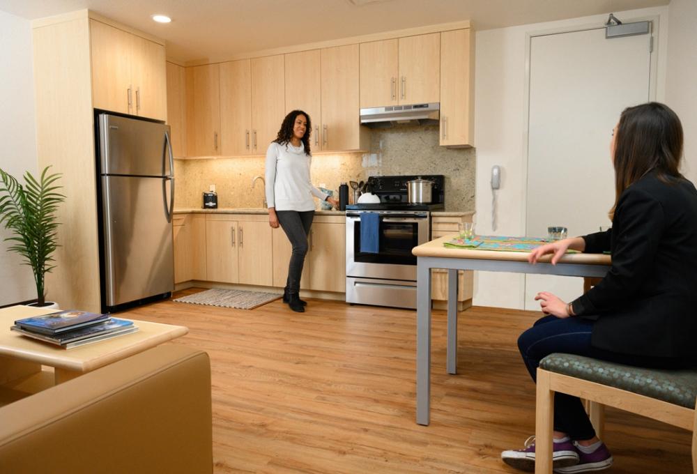 Premium: 2 Bedroom - Kitchen/Living Room Area
