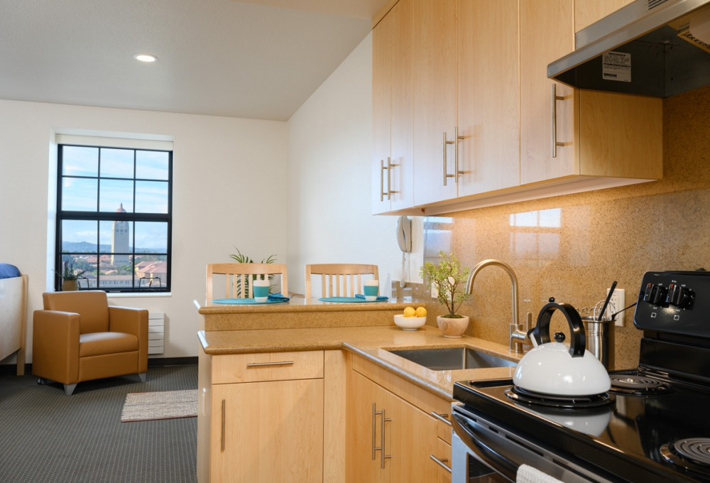 Premium Studio - Kitchen/Living Room Space