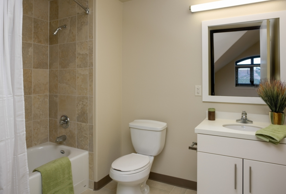 Munger, Standard Studio, Bathroom