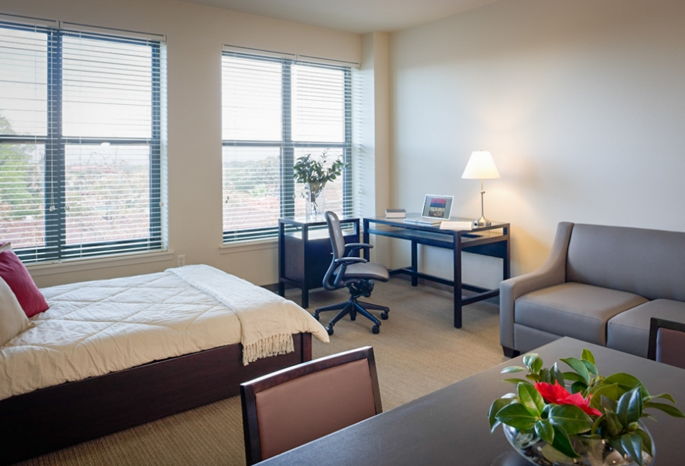 Munger, Premium Studio, Bed, Living and Dining Room