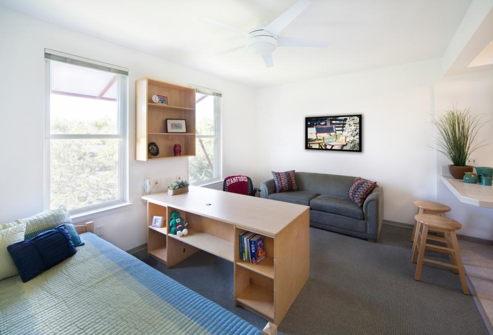 Escondido Village Studios Living-Bedroom