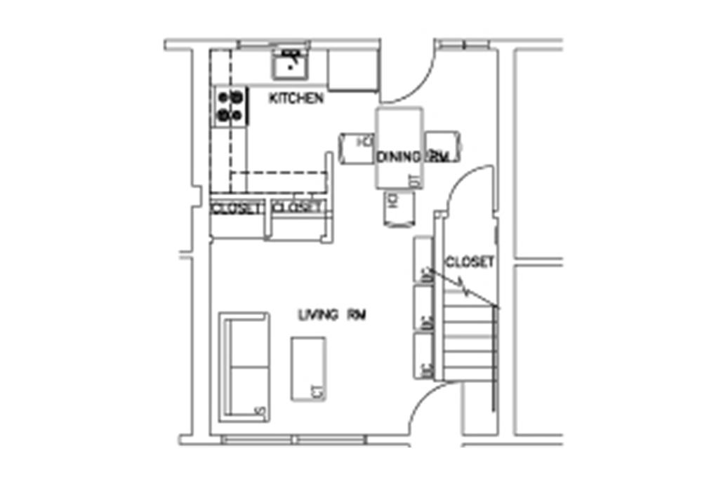 Escondido South - 3-Bedroom - Second Floor Floor Plan