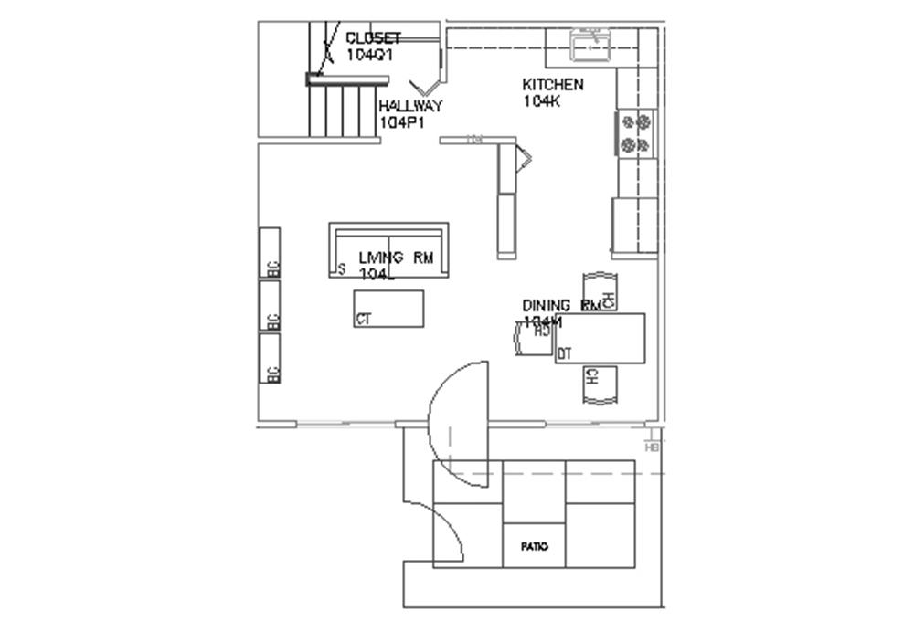 Escondido South - 4-Bedroom - Second Floor Floor Plan
