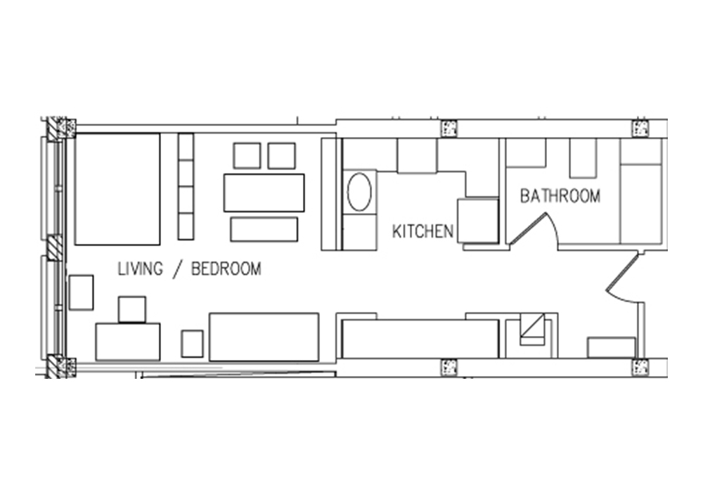 Munger Studio Floor Plan