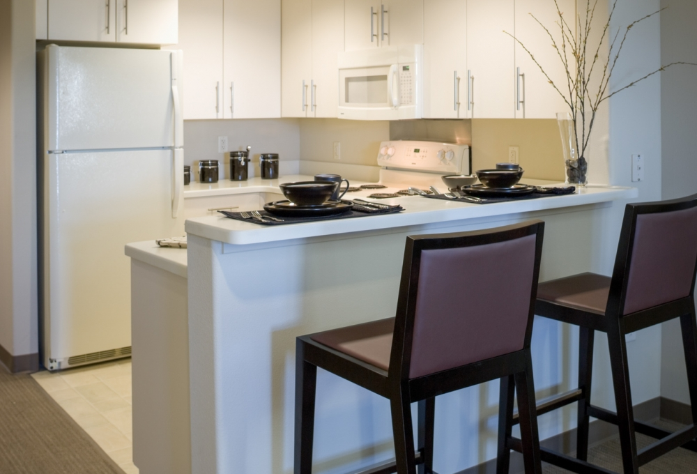 Munger, Standard Studio, Kitchen and Dining Area