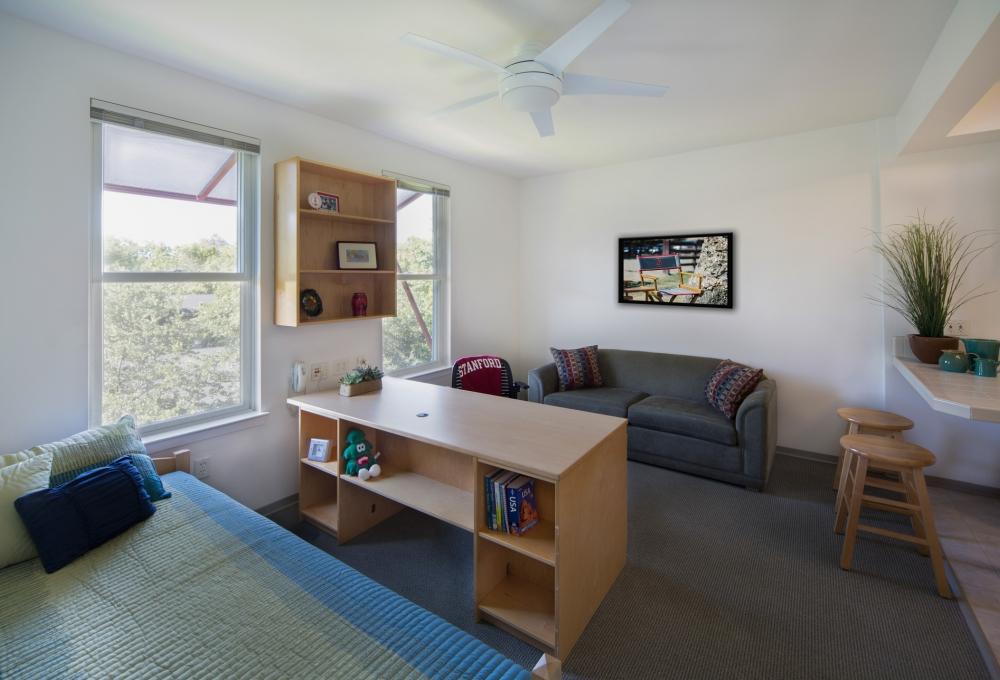 Escondido Village, Studio 5, Living and Bedroom