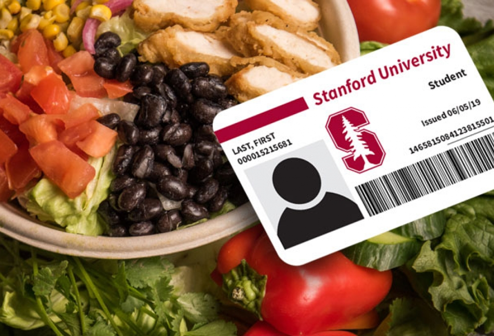 Student ID with Food image