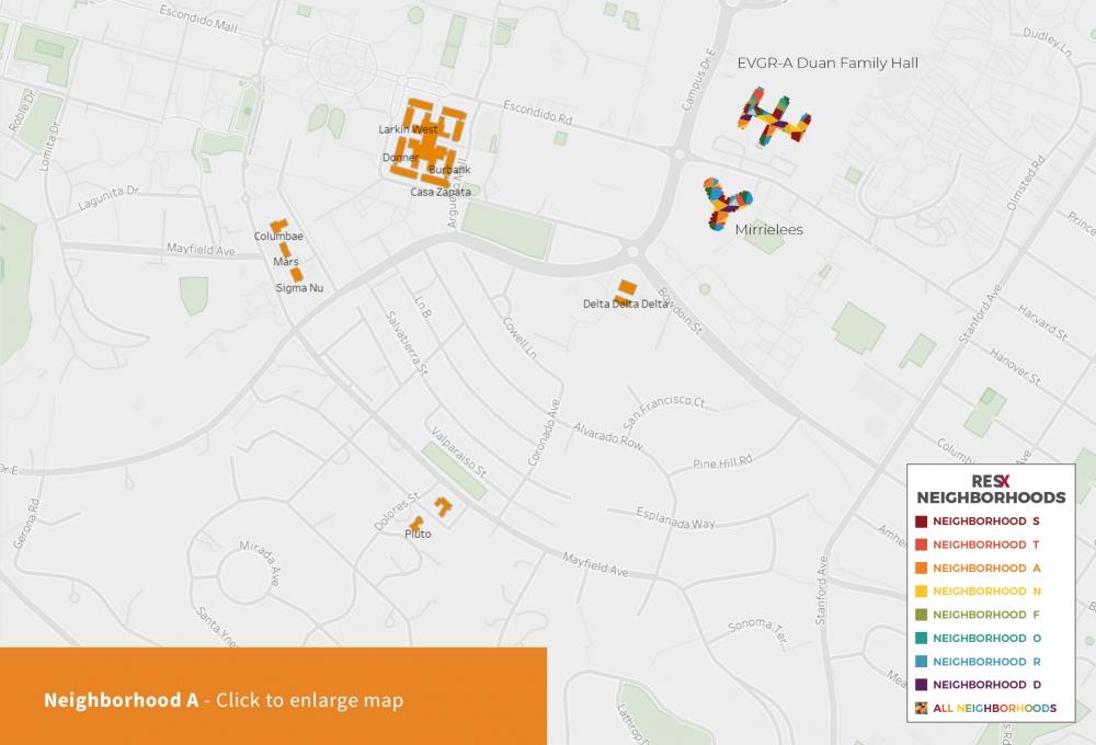 Neighborhood A Map