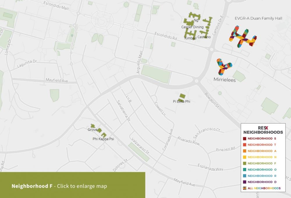 Neighborhood F Map