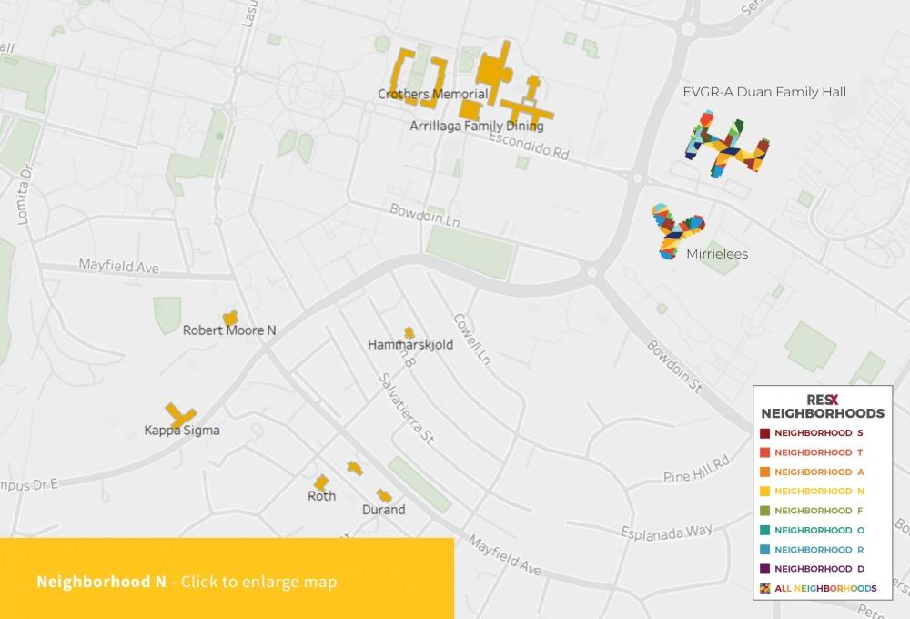Neighborhood N Map