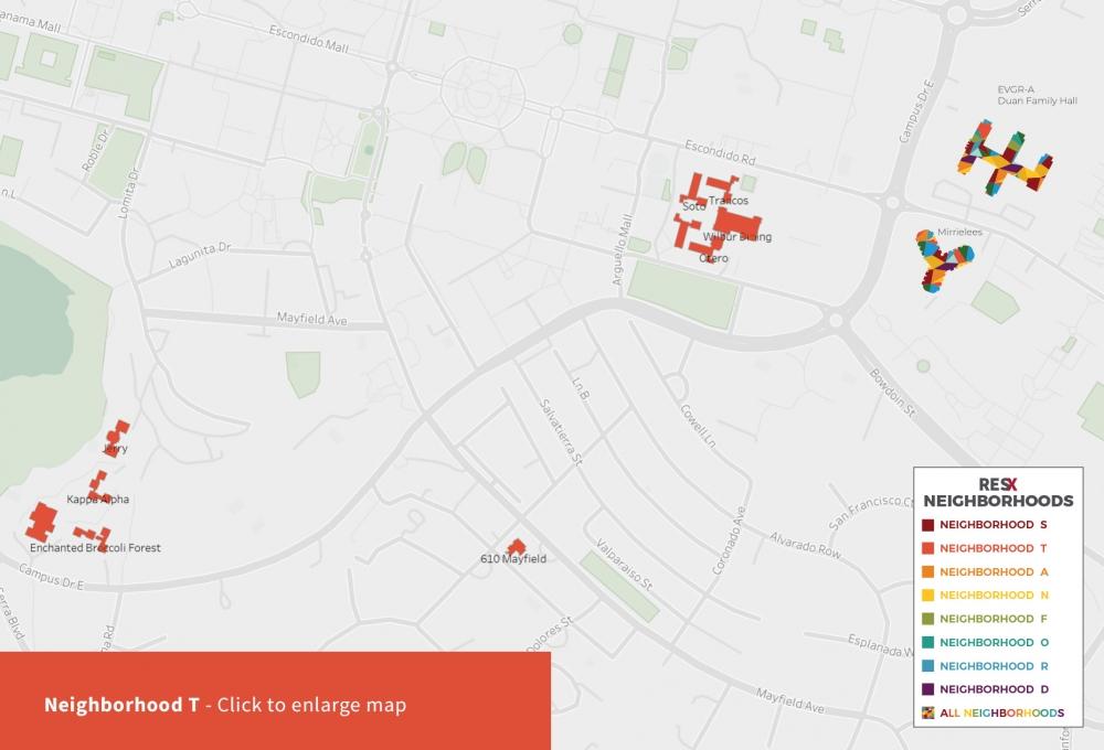 Neighborhood T Map