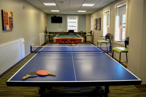 Kennedy Graduate Residences Game Room
