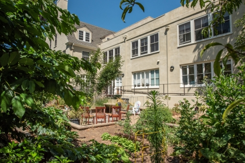 Columbae - Courtyard Area